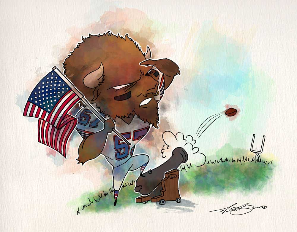 2016 Week 8 - Buffalo Bills | New England Patriots | Lorenzo Alexander