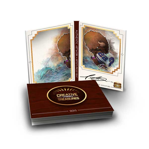 Creative-treasures-masterpieces-booklet-cards-buffalo-bills-billsmafia-biondoart-art