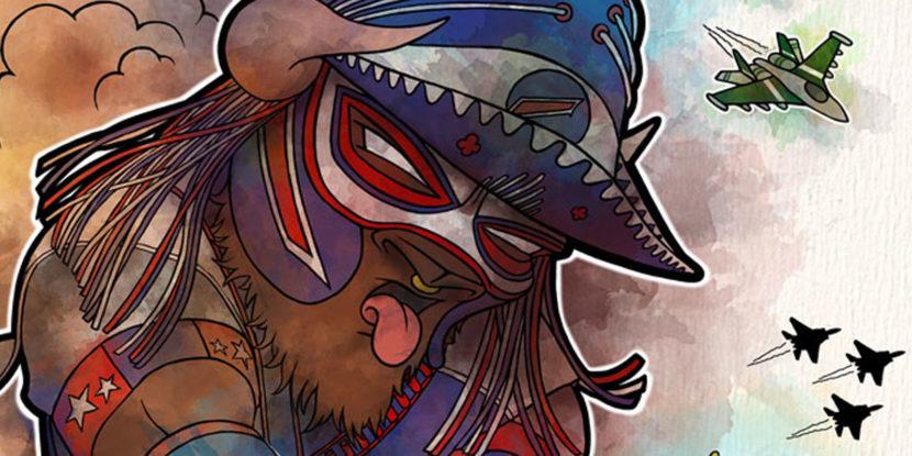Pancho Billa Buffalo Bills NY Jets Illustration artwork