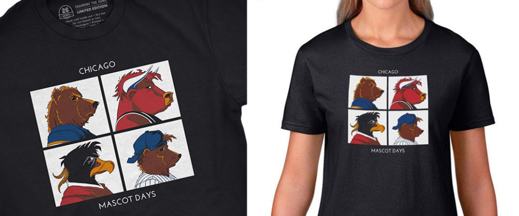 26 Shirts - Chicago - Mascot Days - Biondo Art