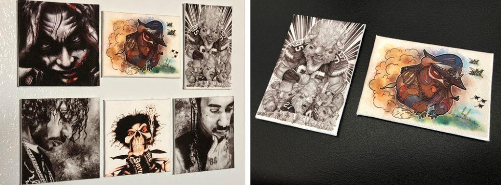 Canvas Magnets - Biondo Art