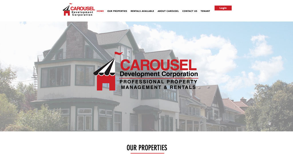 Carousel Development Corp - Web Development and Design - Biondo Art