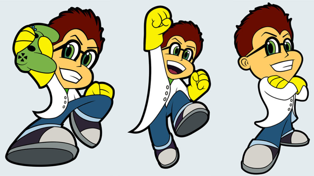 Character Design for Oogie's Gaming Lab - Biondo Art