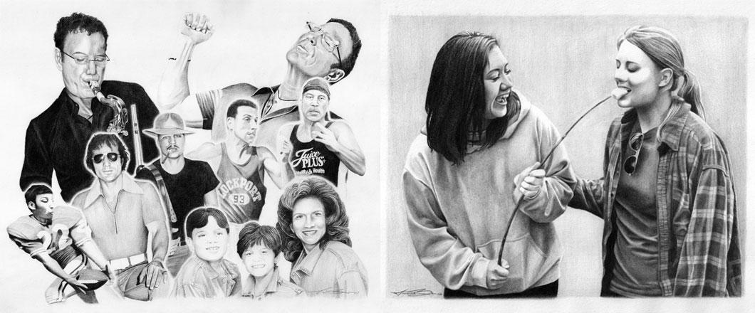 Commission Drawings - Biondo Art