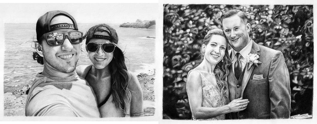 Commission Pencil Drawings - Biondo Art