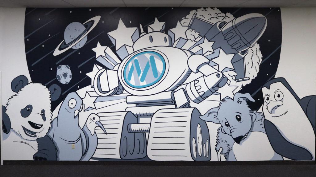 Mainstreethost Mural Painting - Biondo Art
