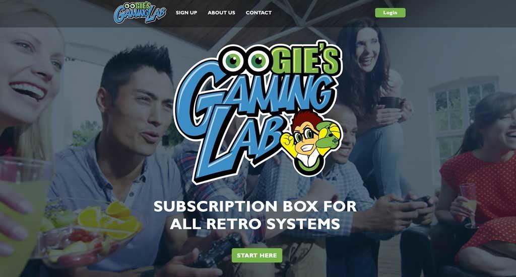 Oogie's Gaming Lab - Web Development and Design - Biondo Art