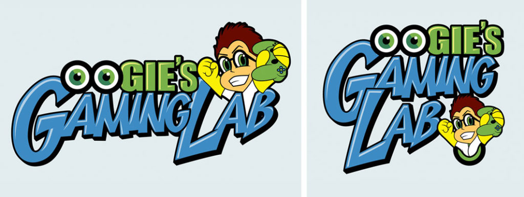 Oogie's Gaming Lab Logo - Biondo Art