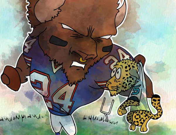 Week 12: Buffalo Bills vs. Jacksonville Jaguars