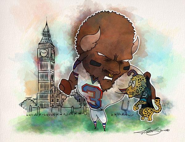 Week 7: Buffalo Bills vs. Jacksonville Jaguars - EJ Manuel
