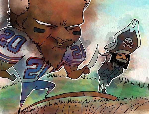 Week 13: Buffalo vs. Oakland