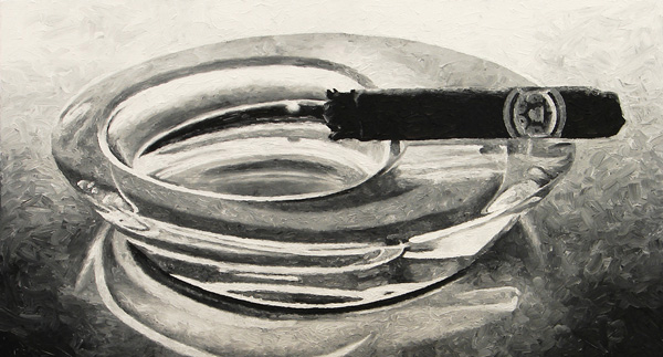 Cigar in ashtray print for sale by Biondo Art
