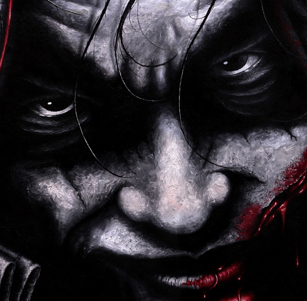 The Joker portrait print for sale by Biondo Art