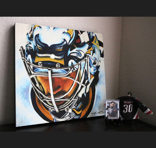 Miller Time portrait print for sale by Biondo Art