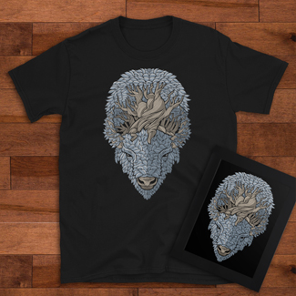 Buffalo Roots T-Shirts for sale