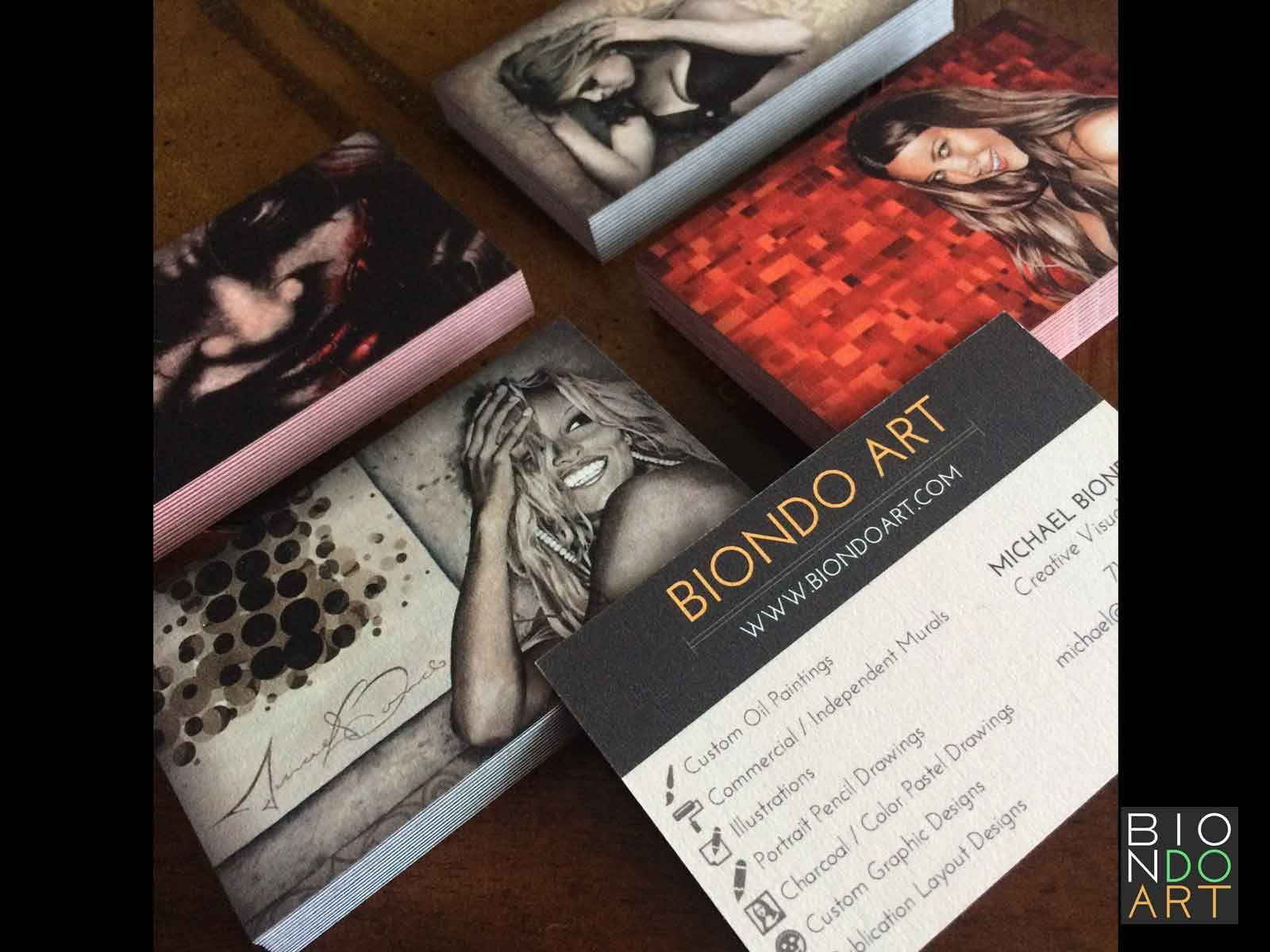 Biondo Art Business Cards