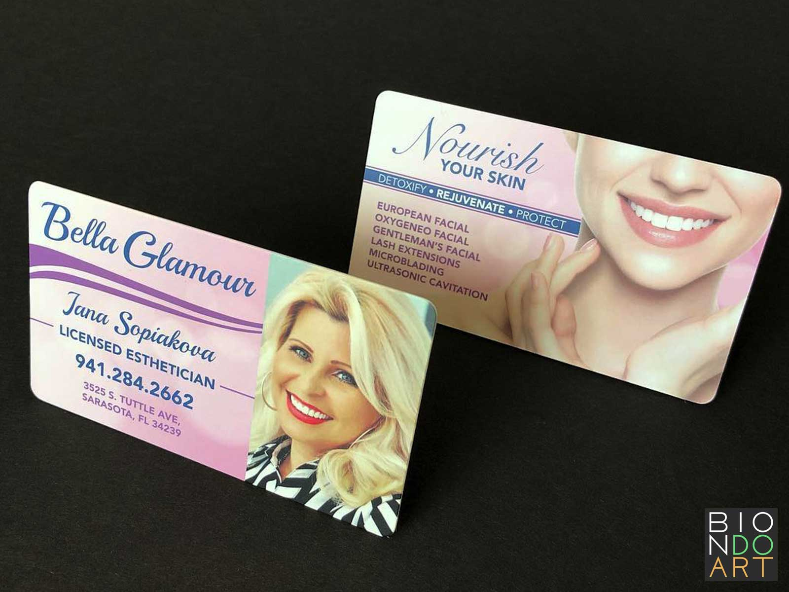 Bella Glamour Business Cards