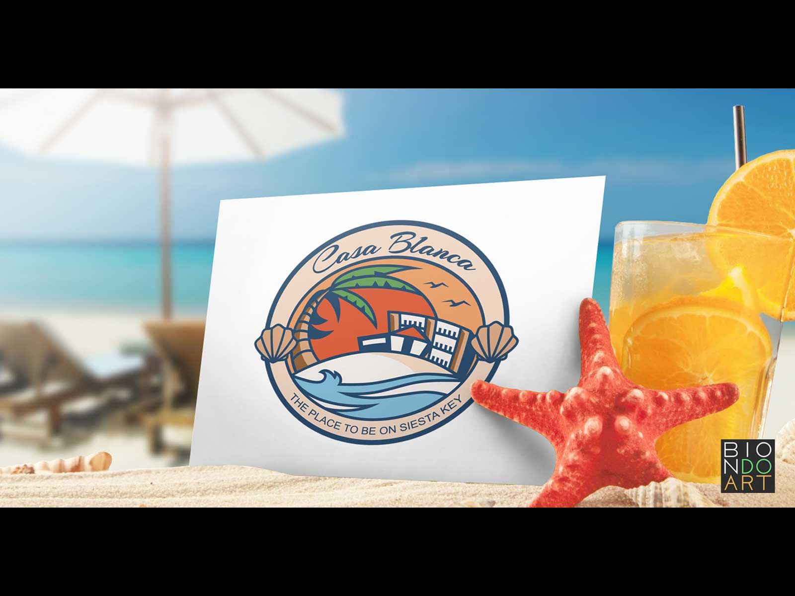 Casa Blanca: Siesta Key Resorts Logo