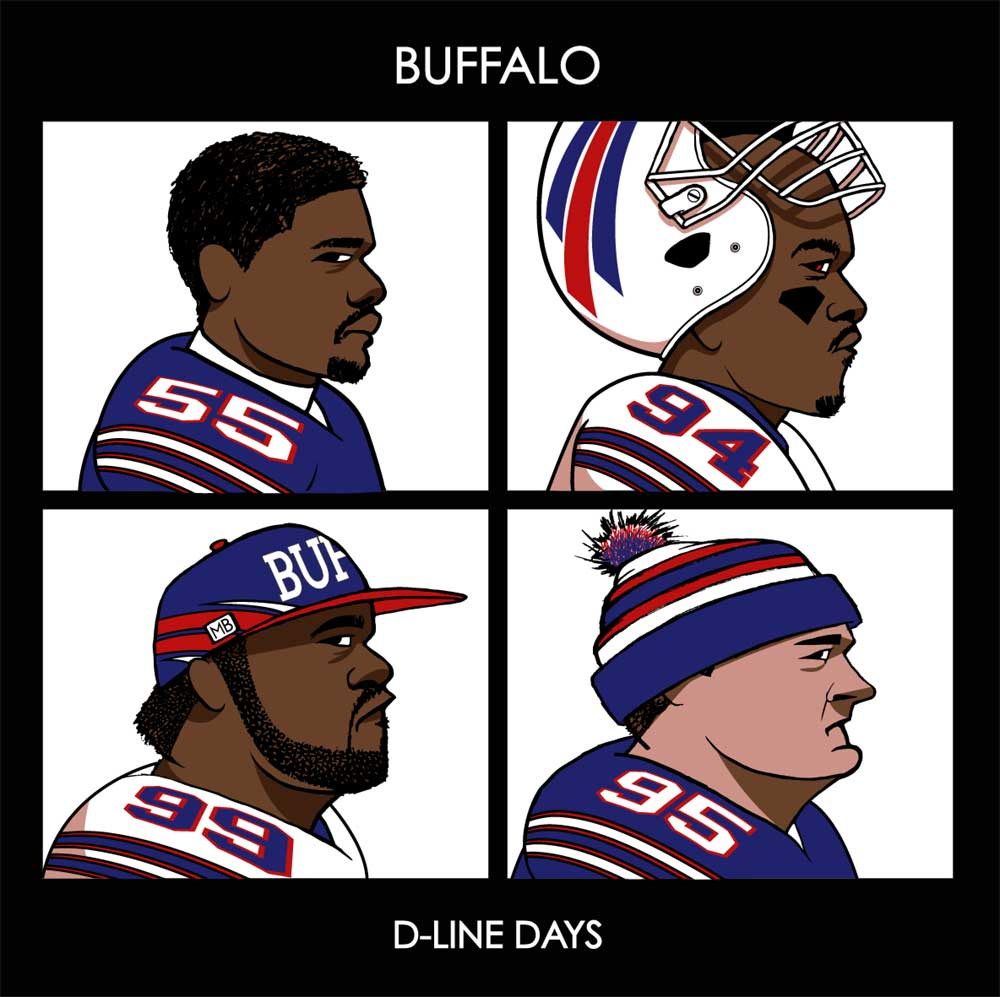D-Line Days by Michael Biondo