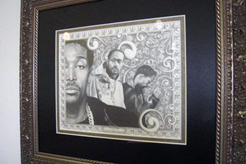 Seven One Six Part Deuce - Krayzie Bone Drawing
