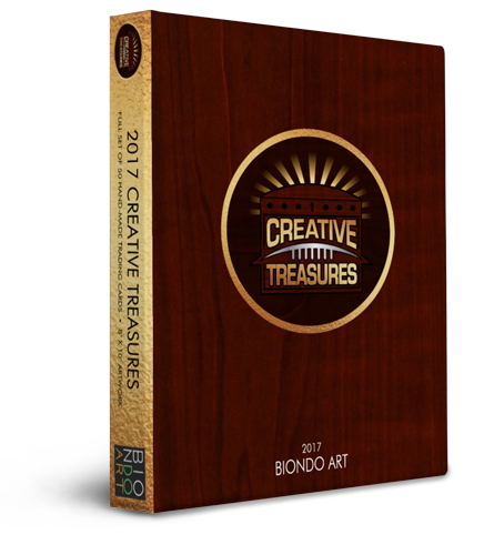 Creative Treasures: Closed Box | Buffalo Bills Art Cards