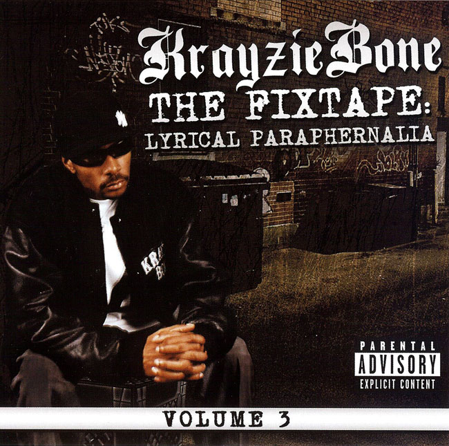 Krayzie Bone - The Fixtape: Lyrical Paraphernalia Oil Painting by Michael Biondo