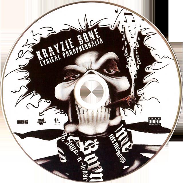 Krayzie Bone - The Fixtape: Lyrical Paraphernalia Oil Painting by Michael Biondo