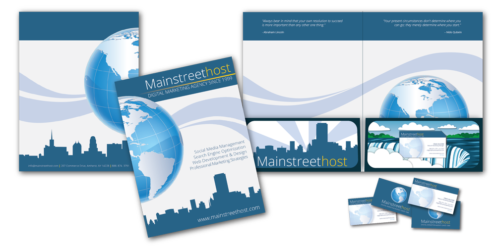 Mainstreethost's Tradeshow Material