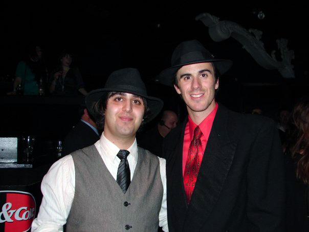 Michael Biondo and Ryan Miller