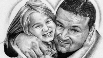 Portrait Commission Drawings for Biondo Art