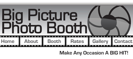 Big Picture Photo Booth Website